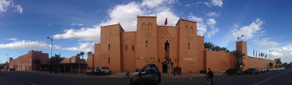 Ouarzazate and the Movie Hotel – The Berbère Palace