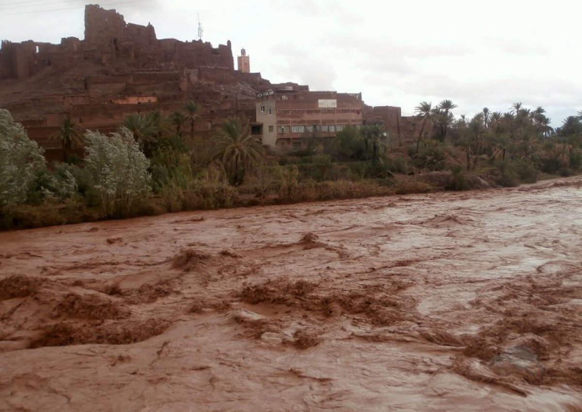 Terrible weather in Morroco